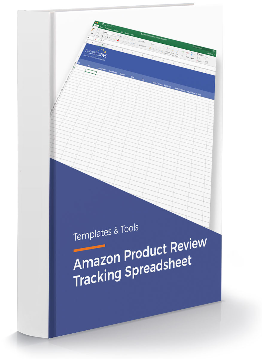 Amazon-Product-Review-Tracking-Spreadsheet