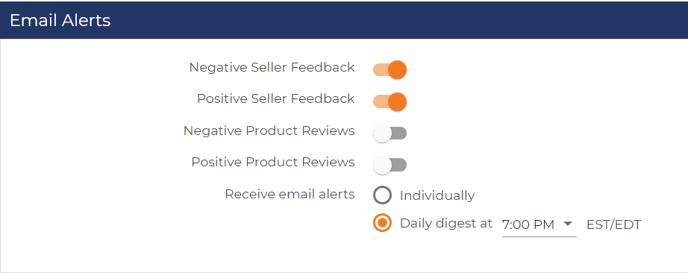 feedbackfive-email-alerts