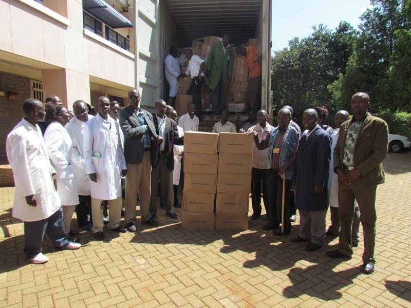 Textbooks for Change shipment arrival