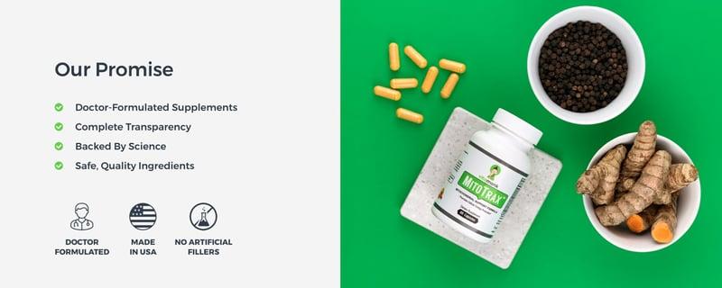 Vitamonk brand image example