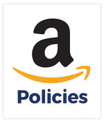"""Amazon logo with """"Policies"""" text underneath"""
