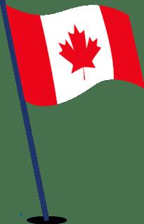 Canadian flag illustration
