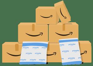 Amazon boxes and envelopes