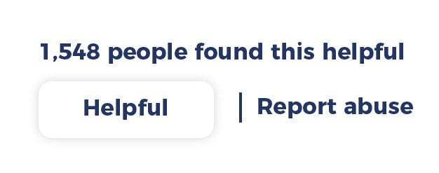 Helpful votes button