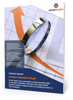 "eBook cover with text, ""Amazon research study"""