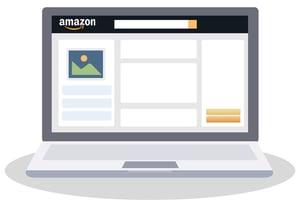 Illustration of Amazon listing page
