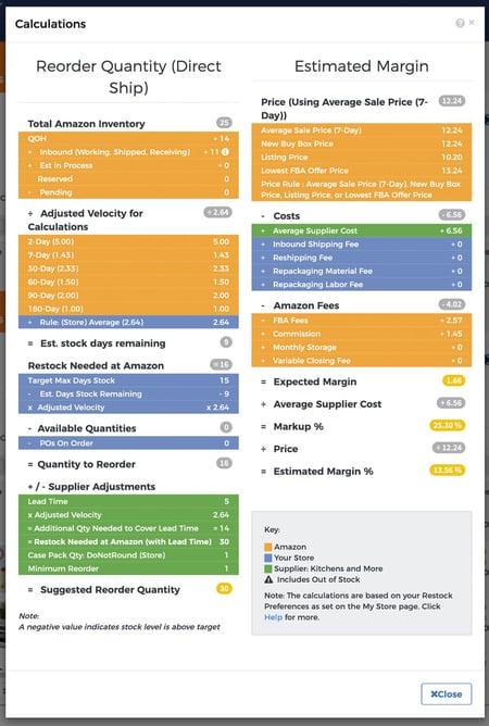 restockpro-calculator-screenshot