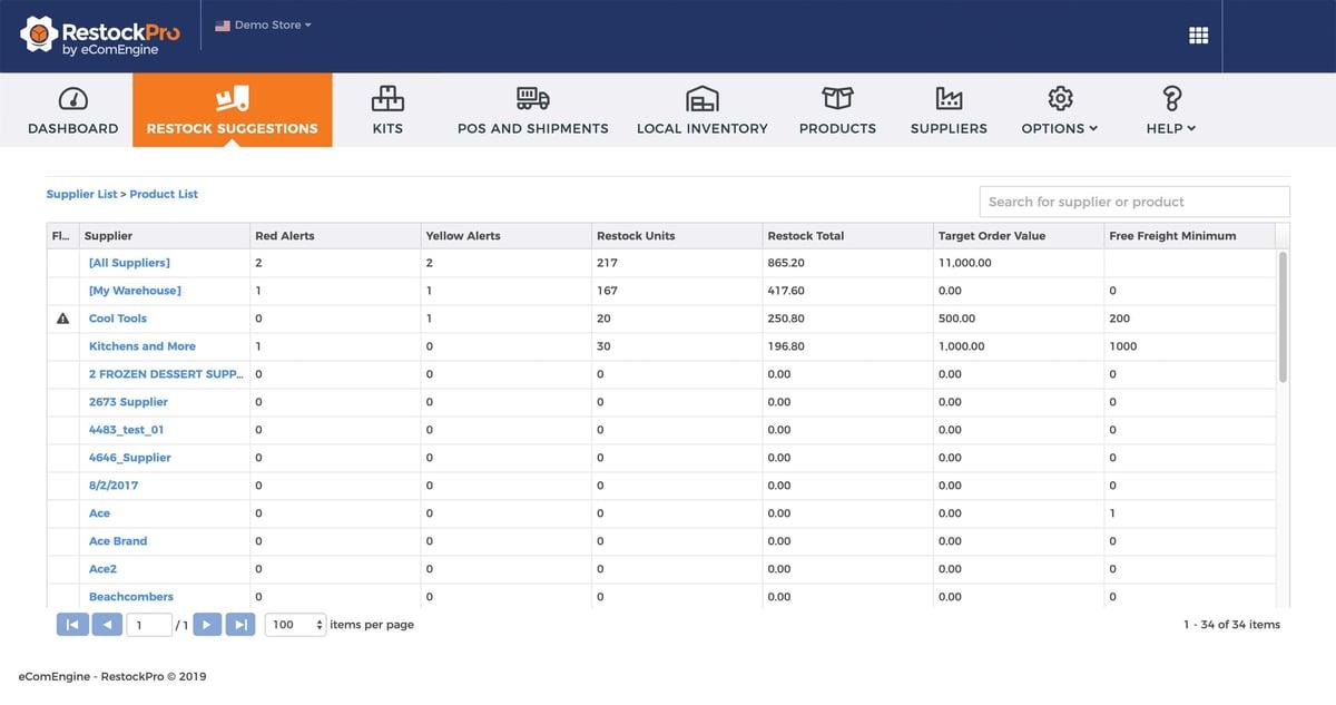 restockpro-restock-suggestions-screenshot