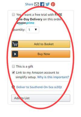 Amazon UK Buy Box