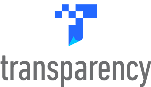 Amazon Transparency logo