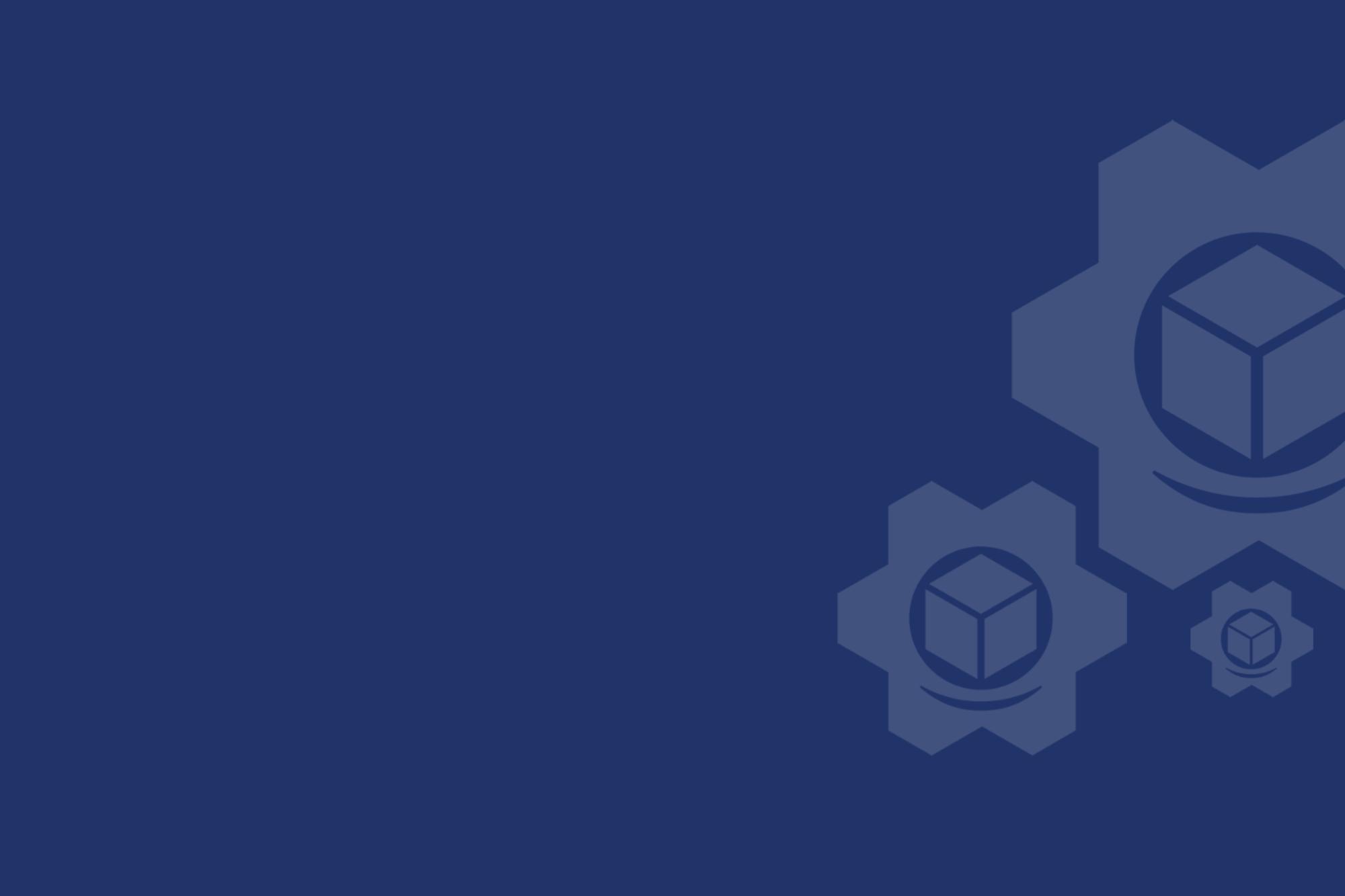 Blue eComEngine gears