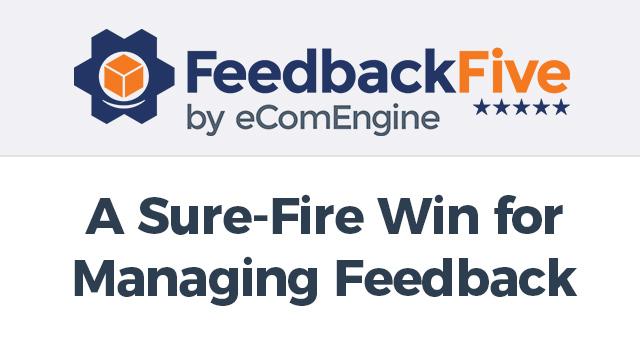 FeedbackFive logo with text,